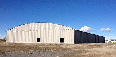 Claresholm Agriplex - new building October, 2016